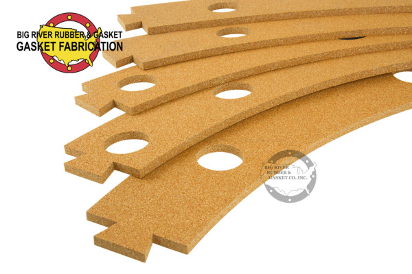 Custom Cut Cork and Rubber Gasket