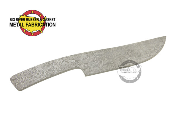 CUstom Fabrication, custom, stainless steel, stainless steel fabrication, knife blank