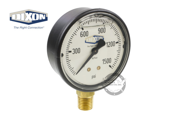 Dixon, Liquid Filled, Pressure Gauge,