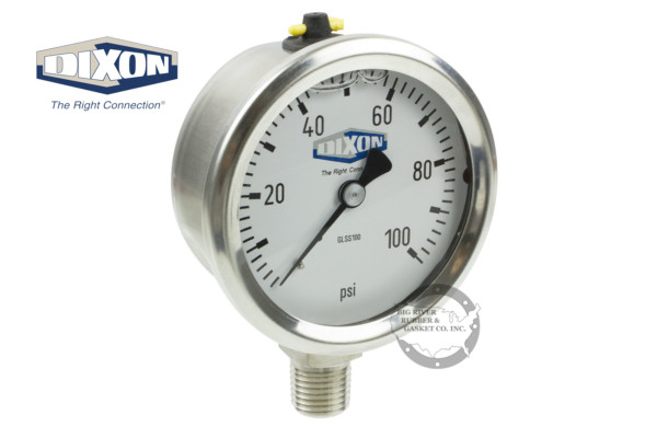 Dixon, Dixon gauge, Pressure Gauge, Liquid Filled Gauge