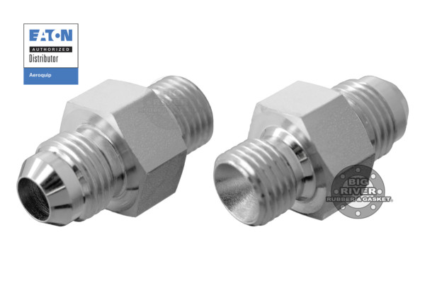 Eaton Aeroquip Male BSPP (Parallel) to Male 37° Flare SAE Straight Adapter