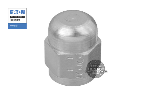 Eaton Aeroquip Female 37° Flare Union JIC Cap Nut Adapter