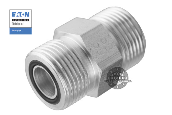 Eaton Aeroquip External Male ORS to External Male ORS SAE Straight Adapter