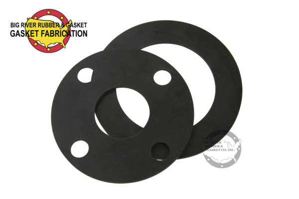 Black round rubber gasket for drinking water seal
