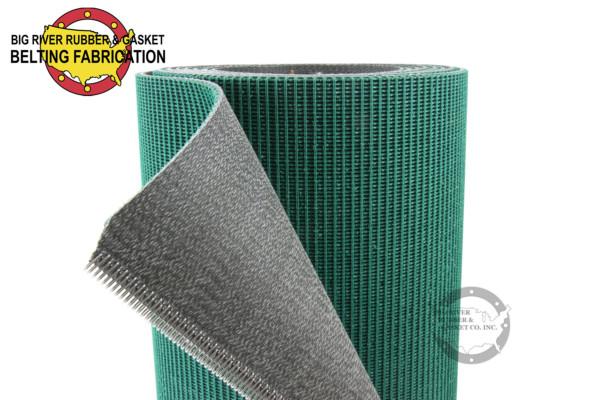 Belting Fabrication, Belting, Green Rough Top Belt