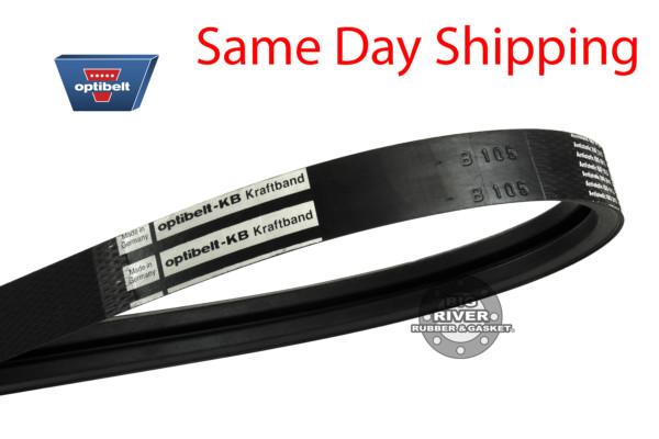 2 banded, 2 banded belt, Banded Optibelt, banded vbelt, v belt, transmission belt,