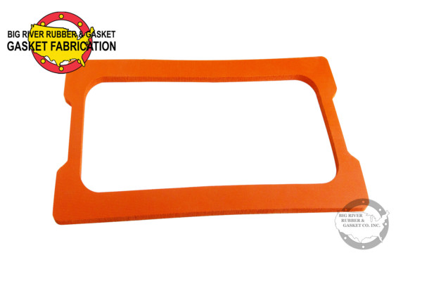 Silicone Gasket, Rubber fabrication, custom fabrication, custom part, custom fab,