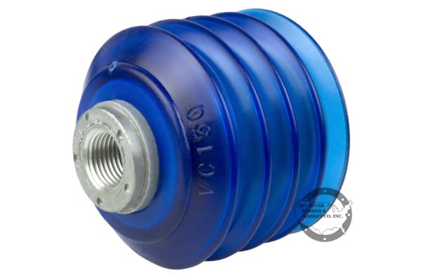 VC130 Bellow .50 Suction Cup, blue