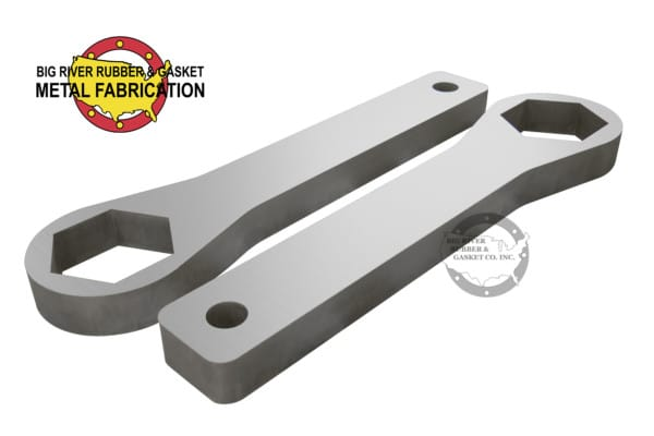 Custom Fabrication, Metal Fabrication, wrench, custom part,