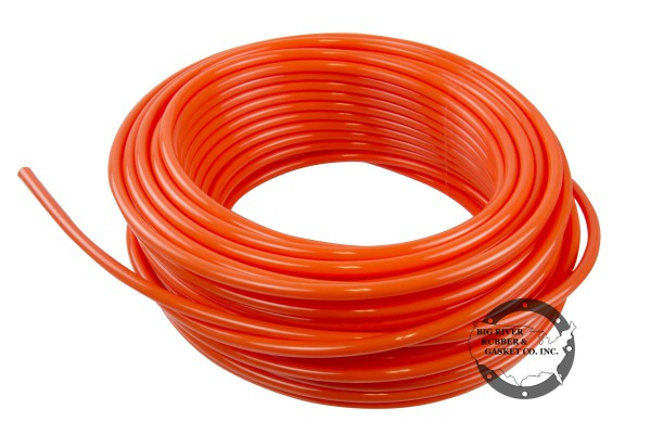 polyethylene tubing, orange tubing